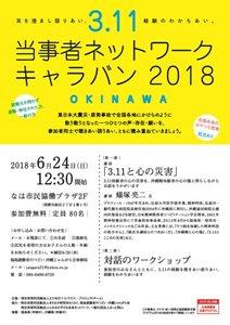 3 11 当事者ネットーワークキャラバン2018 in 沖縄 私たちは今ここに